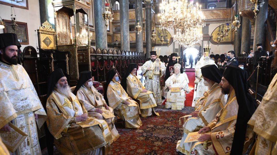 H μεγάλη εορτή του Ευαγγελισμού της Θεοτόκου στο Φανάρι