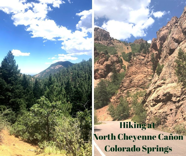 Evergreens for Miles, Sweeping Views, Red Rocks and Waterfalls Enchant at North Cheyenne Canon Park in Colorado Springs