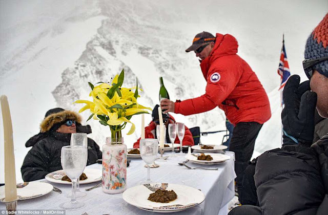 23,149 Feet High Dinner Party at Mount Everest: Featured in Guinness Book of World Records