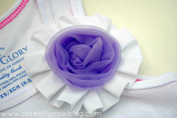 DIY Fabric Rosette (Embellishment), Serenity Now blog