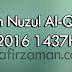 Tarikh Nuzul al-Quran 2016 1437H