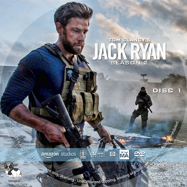 Jack Ryan Season 2 DVD Cover