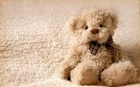 Gambar boneka teddy bear lucu pakai dasi