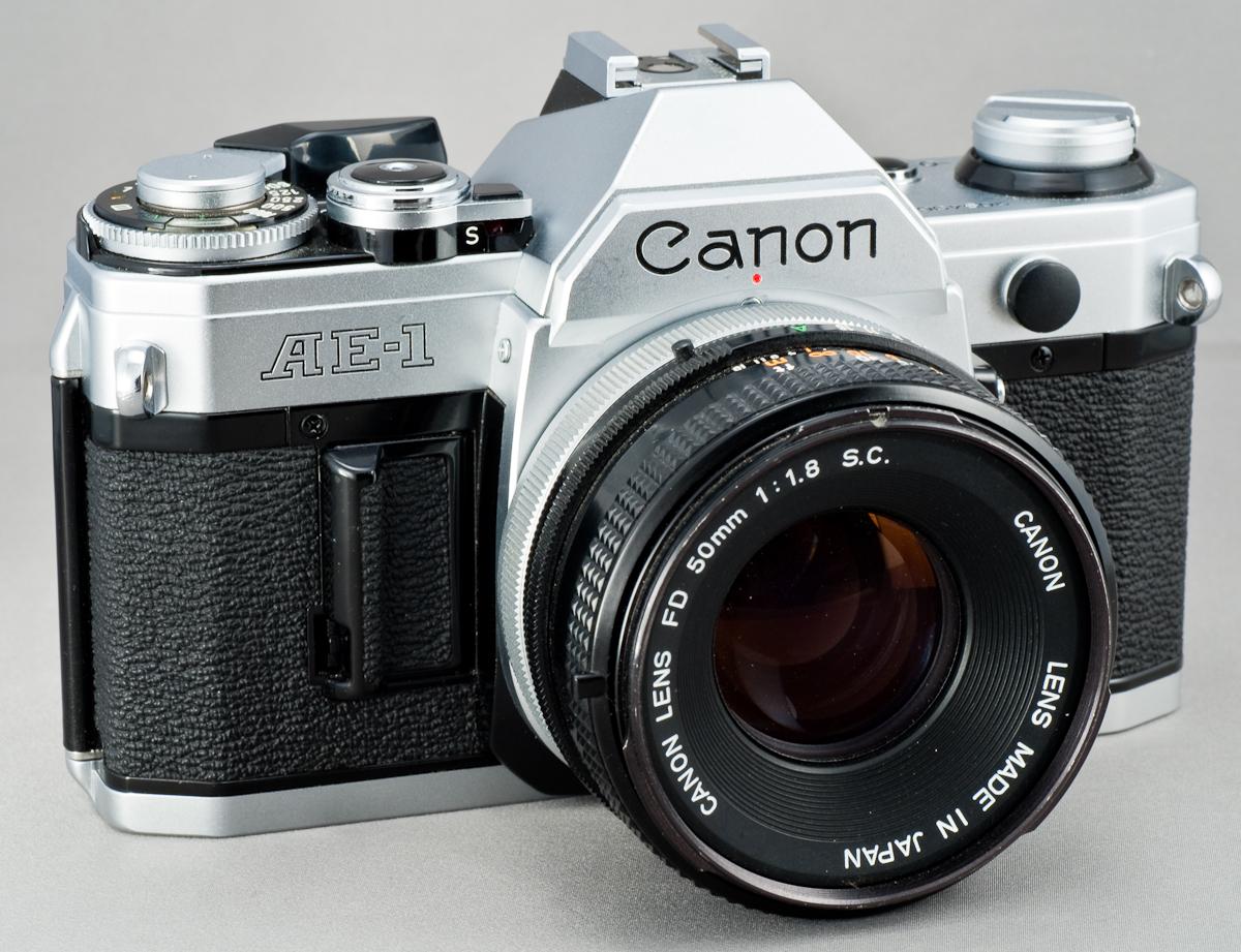 Пленочный фотоаппарат Canon AE-1
