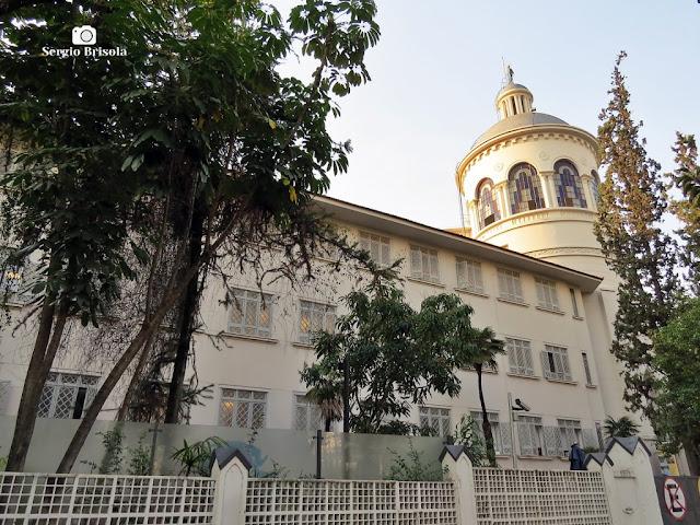 Vista de parte do antigo complexo do Colégio Sacré-Coeur de Marie - Jardim Paulista - São Paulo