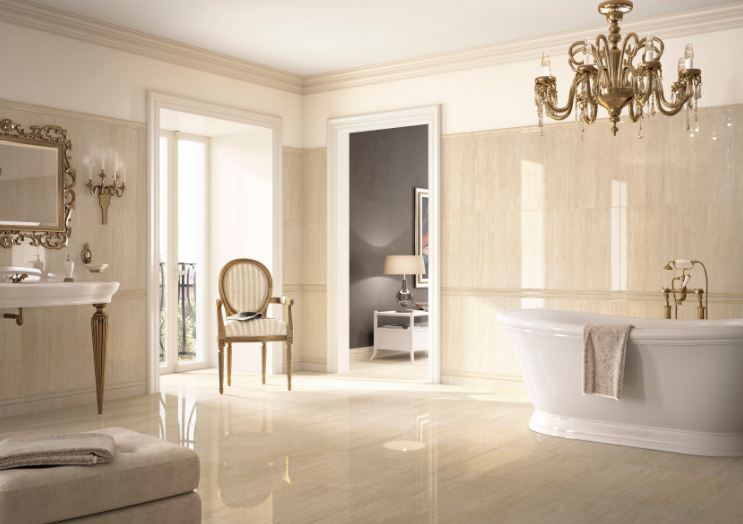 Arredo bagno pavimenti rivestimenti imolaceramica for Arredo bagno barocco