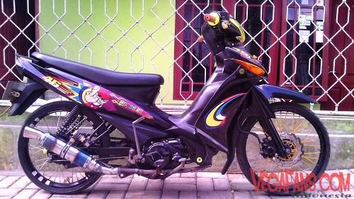 Gambar Kumpulan Modifikasi Motor Yamaha Vega Zr Terbaru