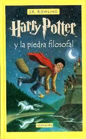 Harry Potter Y La Piedra Filosofal, de J. K. Rowling