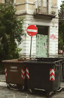 Garbage Bin Photo by Anna Auza on Unsplash