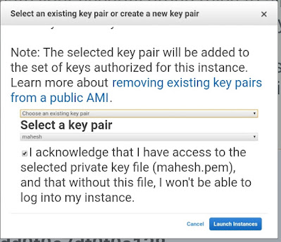 AWS - Create Key Pair