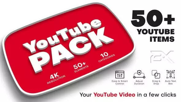 YouTube Pack After Effects Template