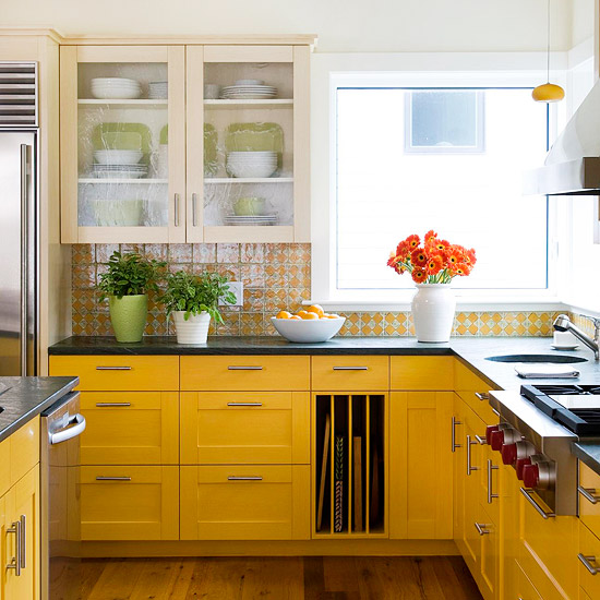 Colorful kitchen backsplash designs. for a modern look create a ...