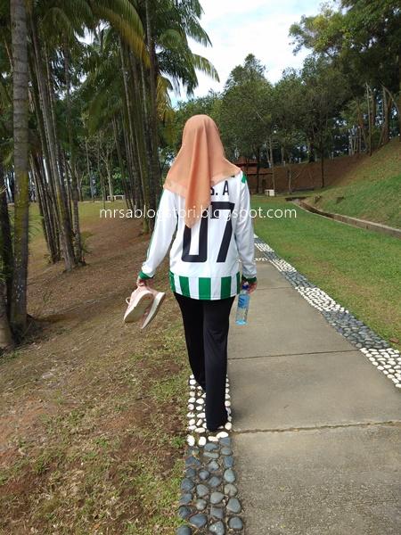 brisk walking