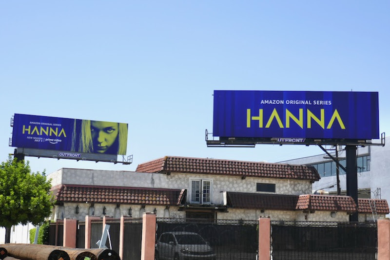 Hanna season 2 billboards