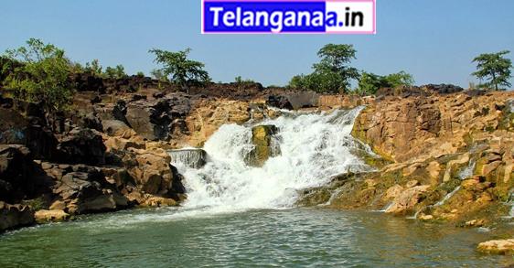 Waterfalls Kanakai in Telangana