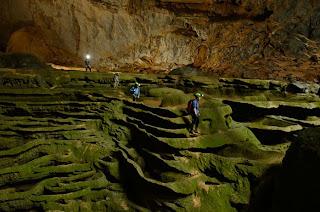 Cueva Mamut, terrazas estilo Sapa, Vietnam