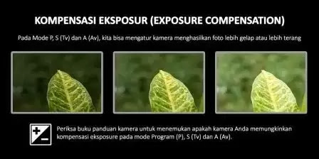 Fungsi Exposure Pada Kamera DSLR