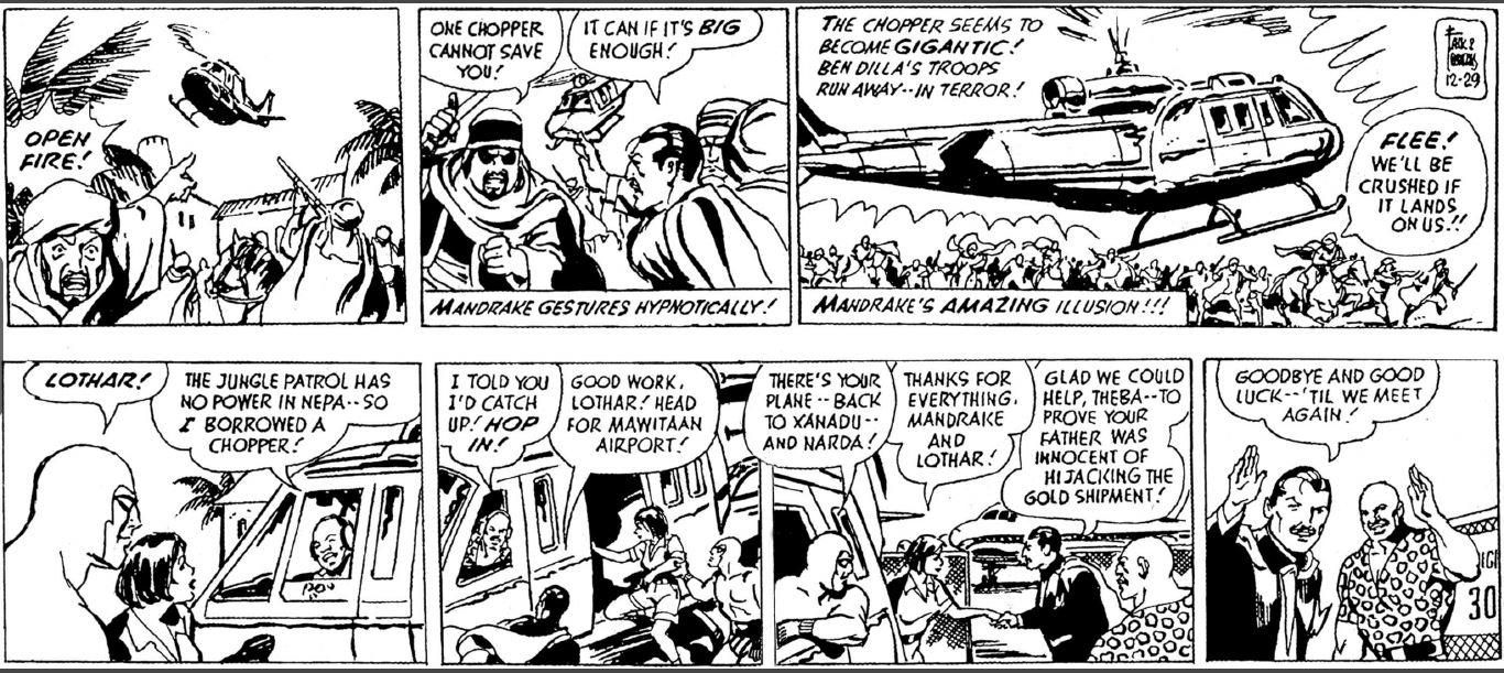 Lothar comic strip