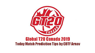 Global T20 Vancouver Knights vs Toronto Nationals 1st Match Today Prediction