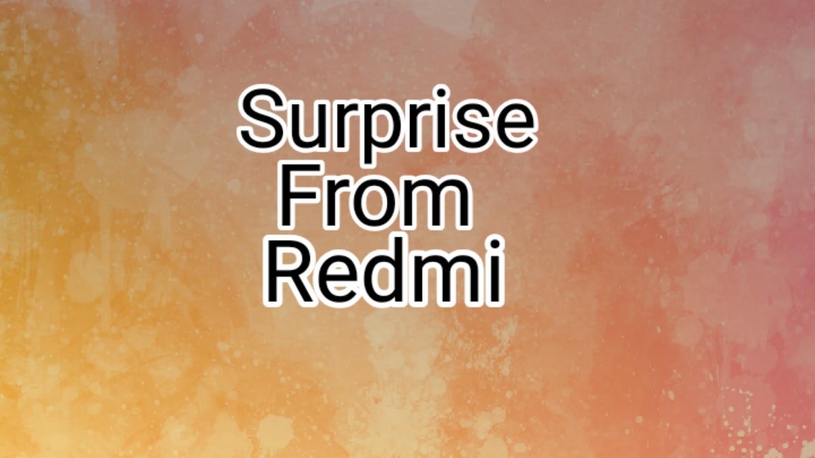 Kejutan Dari Redmi! Sidik Jari Di Layar LCD