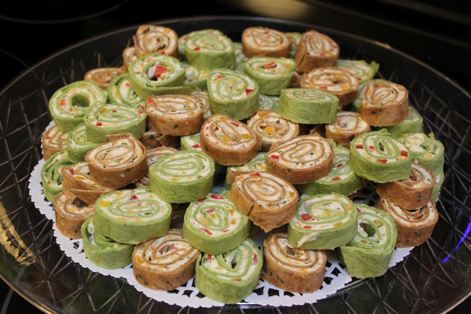 Sweet on You: TORTILLA PINWHEELS