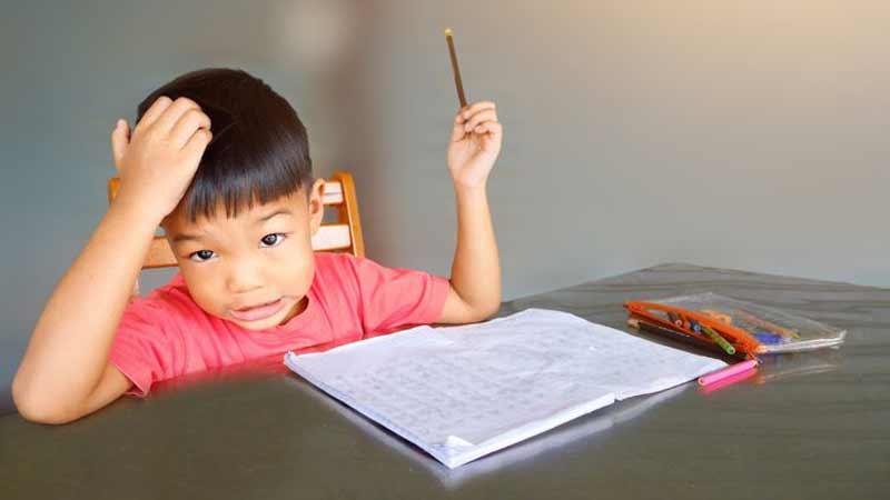 Trik Menghadapi Anak Sulit Belajar di Rumah Dengan Pola yang Baik