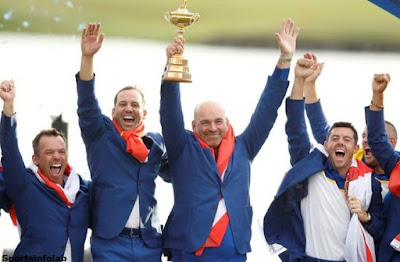 Molinari secures Ryder Cup brilliance for prevailing Europe
