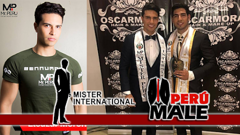 Eleazar Moreno es Mister International Perú 2019