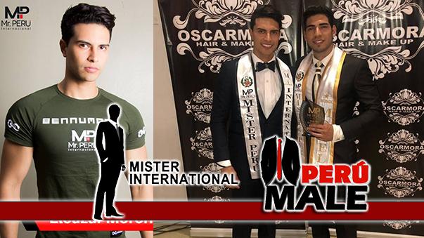 Eleazar Moreno es Mister International Perú 2019