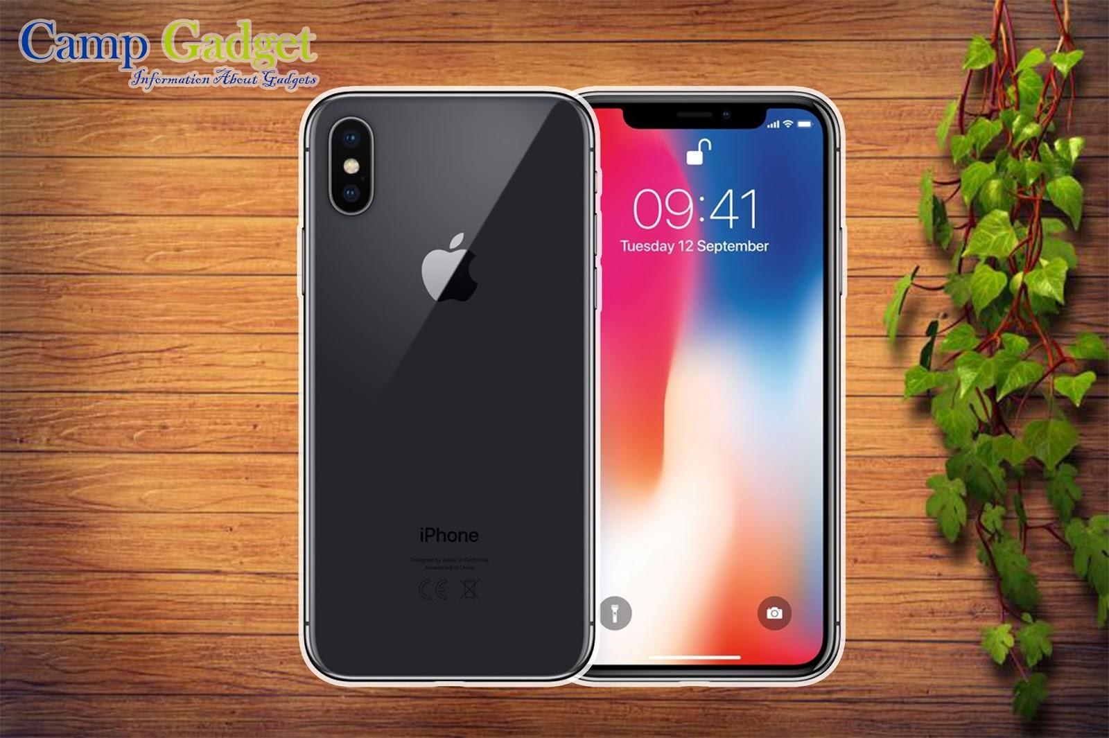 Spesifikasi dan Harga Apple iPhone X Terbaru 2018 - CampGadget