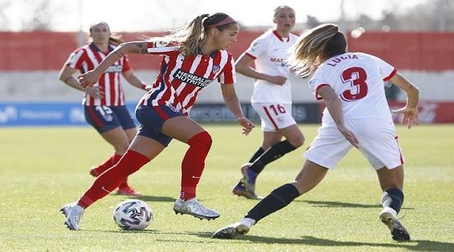 """""""Nuestra jugadora queda pendiente de evolución"""", informó el Atlético de Madrid."""