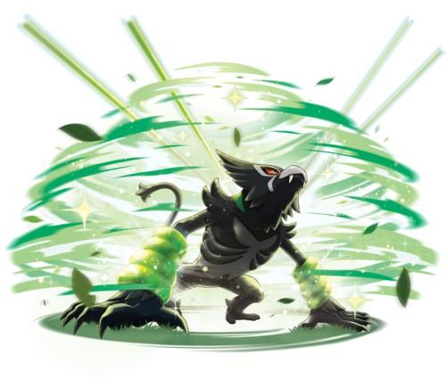 Pokémon Zarude Jungle Healing
