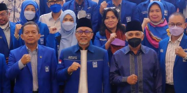 Zulhas, Soetrisno Bachir Dan Hatta Rajasa Bersatu, PAN Optimis Makin Bersinar