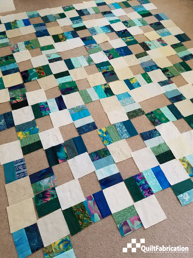 the quilt is growing
