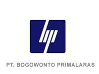 Lowongan Kerja di PT Bogowonto Primalaras Bulan Desember 2019 - Semarang