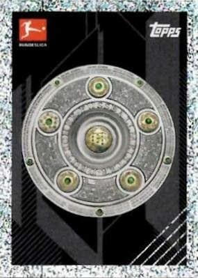 Max Besuschkow Sticker 406 TOPPS Bundesliga 2020//2021