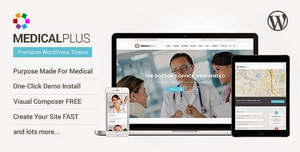 Premium Medical WP Template