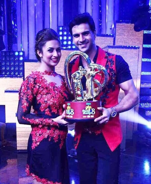 Winner of Nach Baliye 8 – First Prize-Divyanka Tripathi and Vivek Dahiya