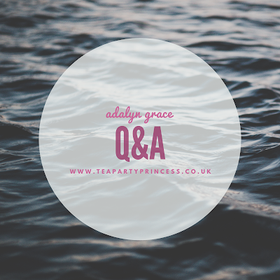 Q&A with Adalyn Grace