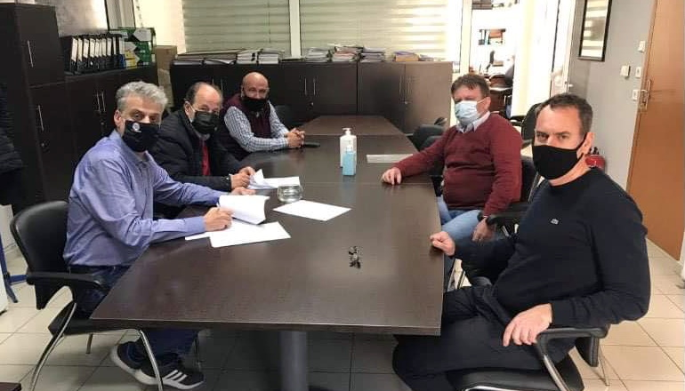 Υπογραφή σύμβασης έργου εγκαταστάσεων επεξεργασίας λυμάτων Ν. Βύσσας Δήμου Ορεστιάδας