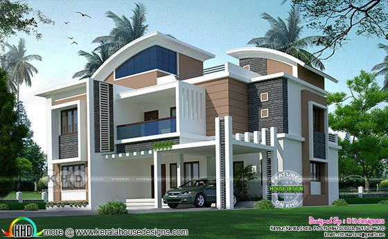 Modern house in 10 cents of land area