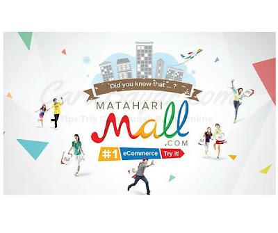 CARA BAYAR DI MATAHARIMALL.COM MELALUI BANK MANDIRI