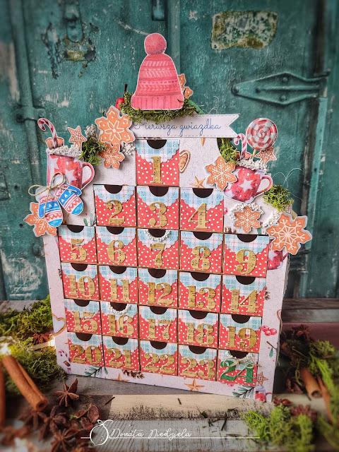 Kalendarz adwentowy / An advent calendar