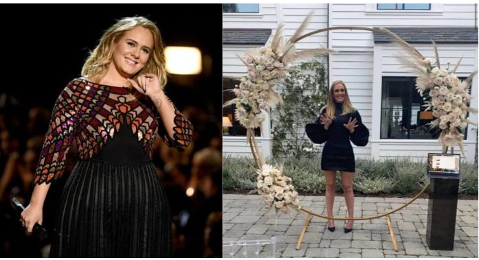 Adele shares a Snap for her birthday which surprises her fans