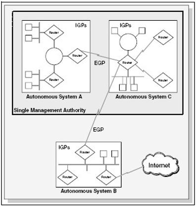 Gambar 6.2 Autonomous System
