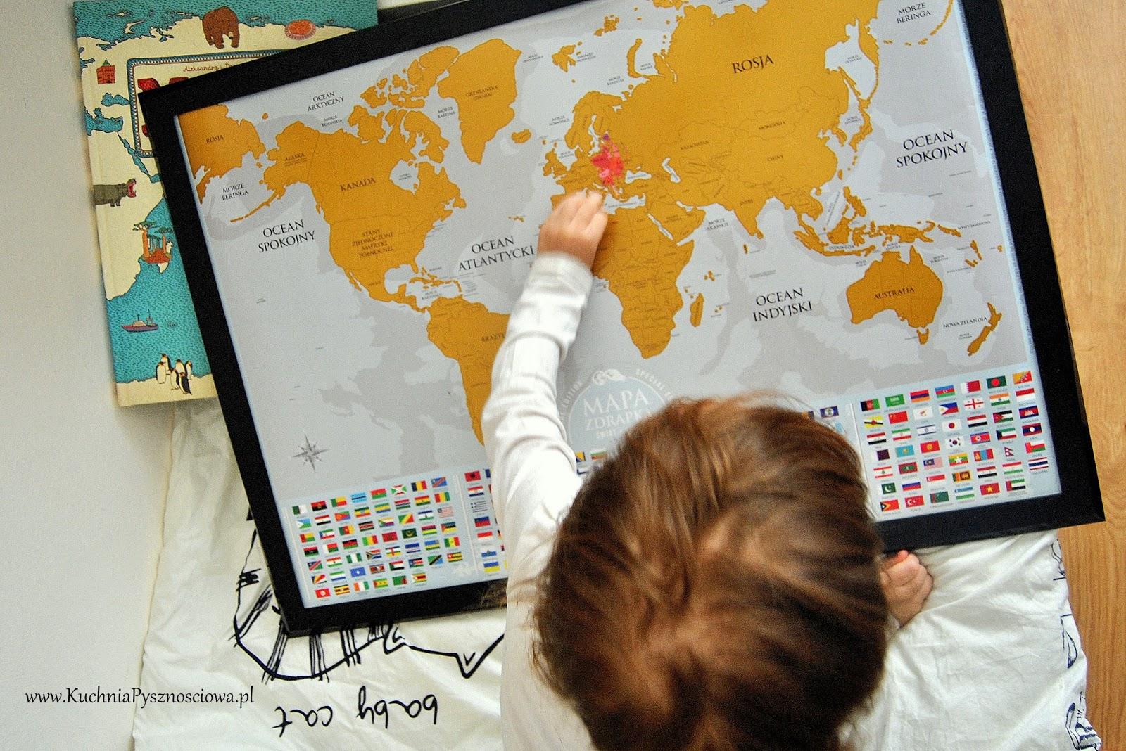 Podróże z dzieckiem...palcem po mapie -KONKURS