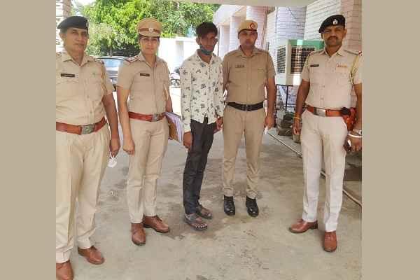 mahila-thana-sector-16-faridabad-arrested-salman-molestation