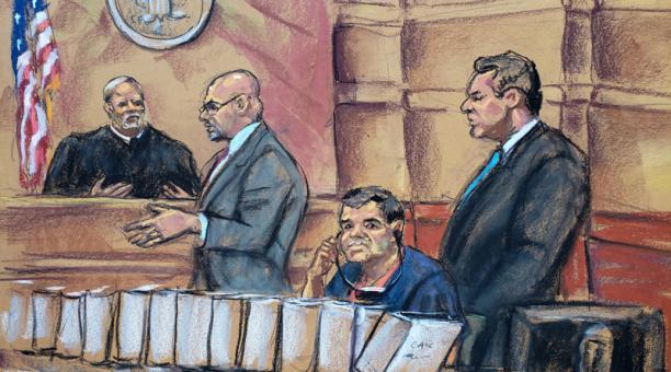 """MUNDO: El narcotraficante mexicano """"El Chapo Guzmán"""" podría ser sentenciado a cadena perpetua en New York."""