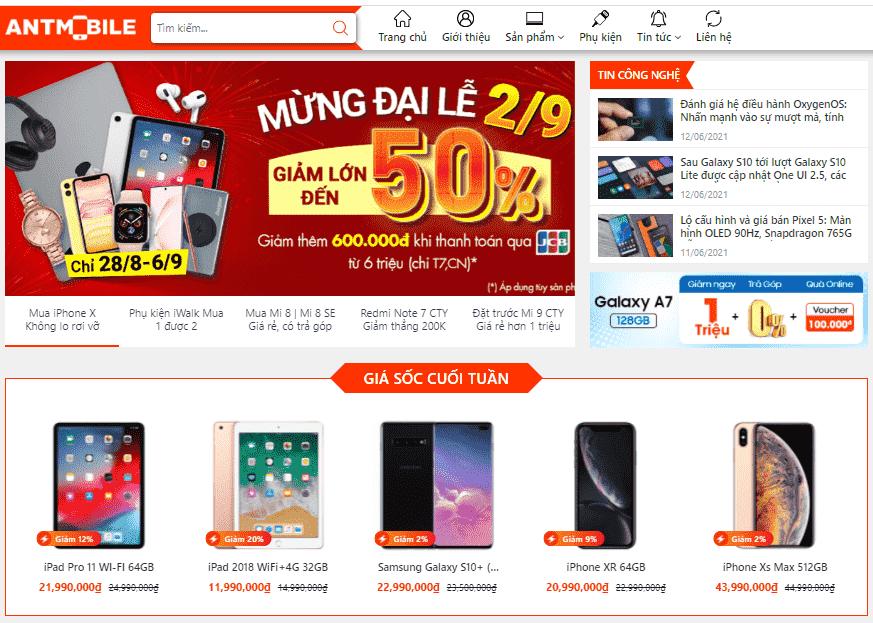 Template blogspot bán điện thoại máy tính công nghệ