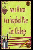 Winner Your Scrapbook Place Challenge